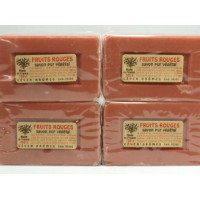 Fruits rouges - Lot 4 Savons 100g