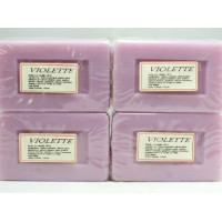 Violette - Lot 4 Savons 100g