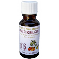 Orange-Citron-Bergamote 20ml Huile essentielle
