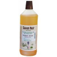 Huile d'Olive-Patchouli-Orange Savon noir 1L