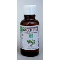 Gaultherie 30ml Huile essentielle bio