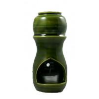 Brûle-parfum artisanal - Vert