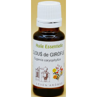 Girofle Clous 20ml Huile essentielle