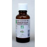 Géranium Rosat 30ml Huile essentielle bio