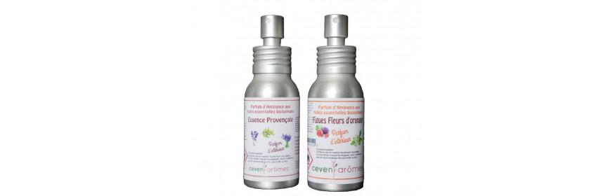 Parfums d'intérieur aux huiles essentielles